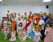 праздничное занятие в группе «Вифлеемская звезда» церковно-приходской студии «Рождество» 13