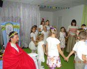 праздничное занятие в группе «Вифлеемская звезда» церковно-приходской студии «Рождество» 9