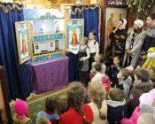 детский праздник в честьРождества Христова 2019 фото6