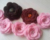 Мастер-класс по вязанию кружевных цветочков - Амигуруми-клуб