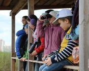 На экологической тропе прошла экскурсия с орнитологом Русланом Шайкиным