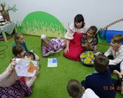 Праздничные пасхальные занятия прошли в приходской студии «Рождество»!
