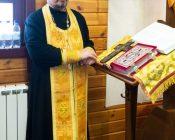 Патриарший Экзарх совершил Литургию в храме в честь святителя Николая Японского города Минска (фото 1)