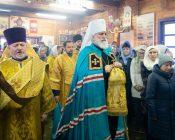 Патриарший Экзарх совершил Литургию в храме в честь святителя Николая Японского города Минска (фото 12)