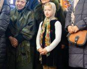 Патриарший Экзарх совершил Литургию в храме в честь святителя Николая Японского города Минска (фото 23)