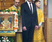 Патриарший Экзарх совершил Литургию в храме в честь святителя Николая Японского города Минска (фото 24)