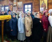 Патриарший Экзарх совершил Литургию в храме в честь святителя Николая Японского города Минска (фото 26)