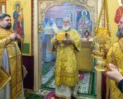 Патриарший Экзарх совершил Литургию в храме в честь святителя Николая Японского города Минска (фото 29)