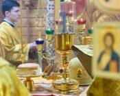 Патриарший Экзарх совершил Литургию в храме в честь святителя Николая Японского города Минска (фото 30)
