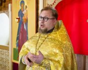 Патриарший Экзарх совершил Литургию в храме в честь святителя Николая Японского города Минска (фото 31)