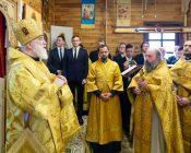 Патриарший Экзарх совершил Литургию в храме в честь святителя Николая Японского города Минска (фото 34)
