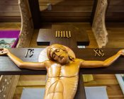Патриарший Экзарх совершил Литургию в храме в честь святителя Николая Японского города Минска (фото 39)