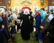 Патриарший Экзарх совершил Литургию в храме в честь святителя Николая Японского города Минска (фото 42)