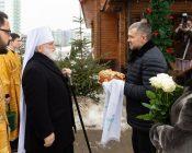 Патриарший Экзарх совершил Литургию в храме в честь святителя Николая Японского города Минска (фото 5)