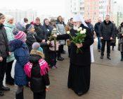 Патриарший Экзарх совершил Литургию в храме в честь святителя Николая Японского города Минска (фото 8)