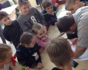 Первый выпуск детской церковно-приходской школы
