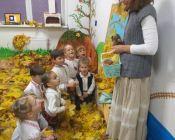 праздничное занятие в детской студии 13