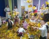праздничное занятие в детской студии 15