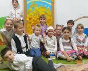 праздничное занятие в детской студии 19