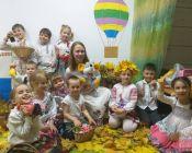 праздничное занятие в детской студии 21