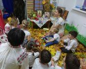 праздничное занятие в детской студии 24