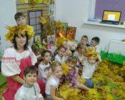 праздничное занятие в детской студии 28