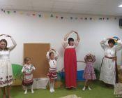 праздничное занятие в детской студии 4