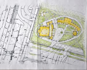 План территории прихода Николая Японского