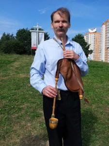 Гучыць беларуская дуда (на Укра_не гэта валынка)
