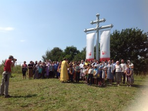 Освящение креста 2