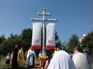 Освящение креста 3