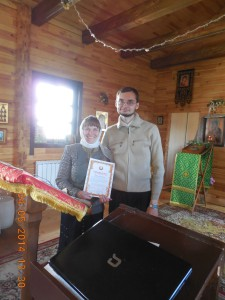 Людміла Цэд і Вадзім Урублеўскі