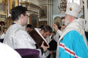 Награждение о.Павла