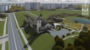 Строительство правосл. храма Николая Японского в Минске