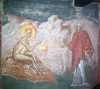 Святой Иов Многострадальный на гноище