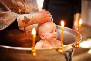 Таинство Крещения в храме свт. Николая Японского