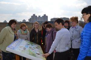 Учителям школ фрунзенского района рассказали про экологическую тропу «Каменная горка»