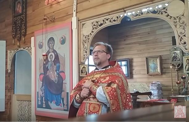 О нашем отношении к святым и к молитве. Проповедь отца Сергия Тимошенкова