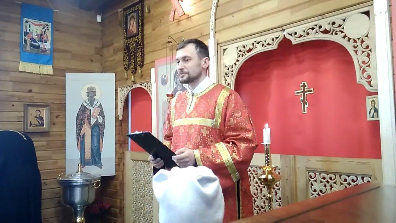 Слово юным христианам в Неделю о самарянке с пономарем Алексеем Мосесовым