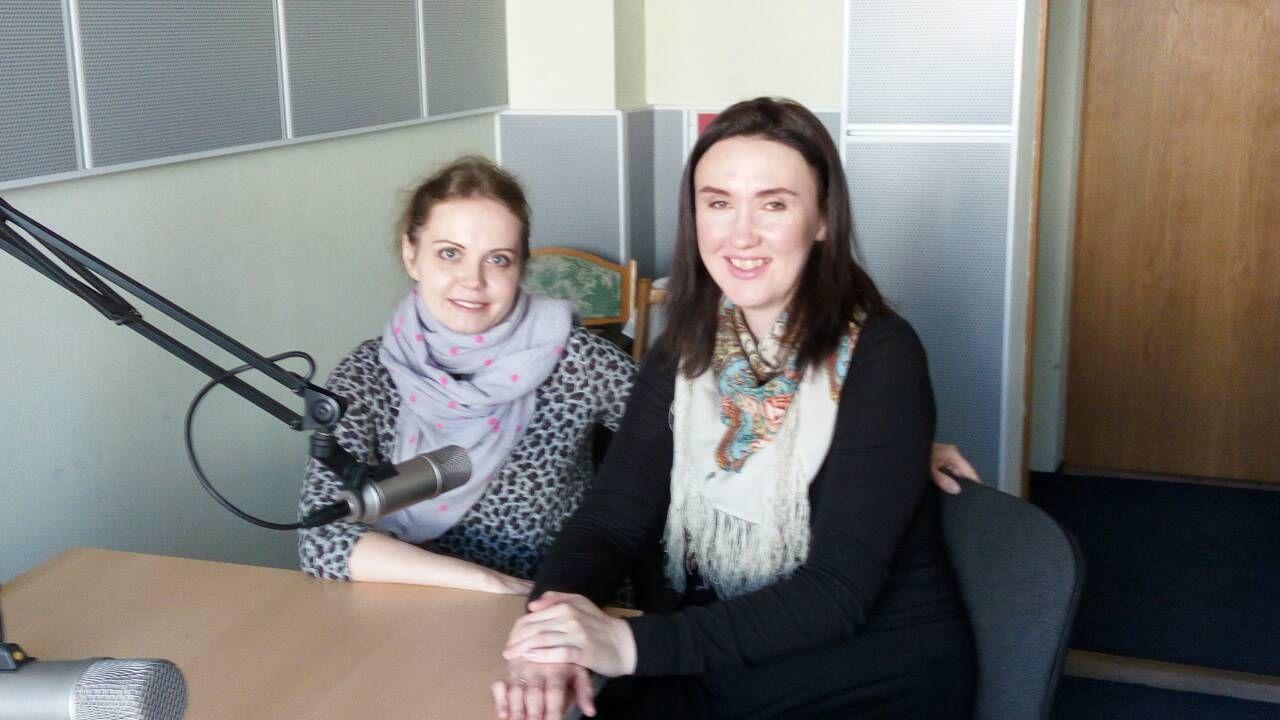 Беседа о праздновании Пасхи в студии Рождество на Первом канале белорусского радио