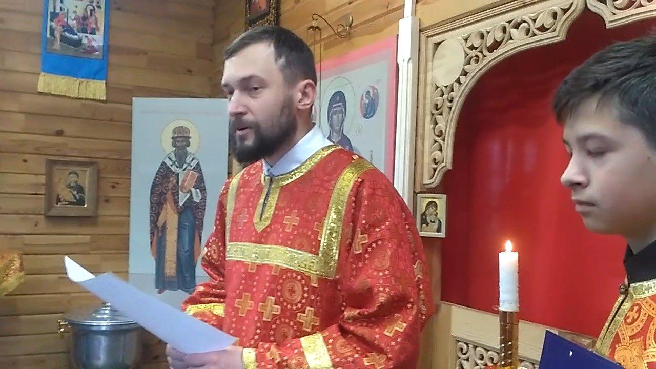 Слово юным христианам в Неделю о расслабленном с пономарем Алексеем Мосесовым