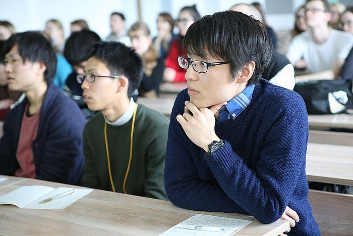 Японские студенты