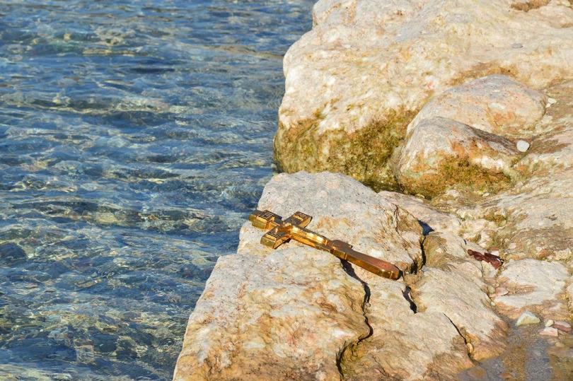 Освящение вод озера Гарда в Италии. Фото: Сергий Дмитриев
