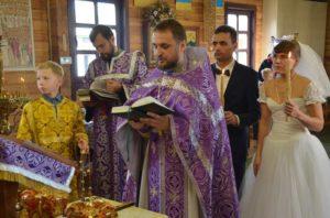 Венчание в храме Николая Японского