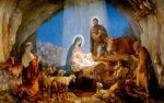 Приглашаем юных прихожан 7 января на праздник Рождества Христова!