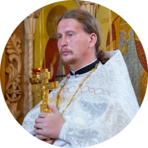 Священник Андрей Мизюк. Фото Ивана Привалова / eparhia-saratov