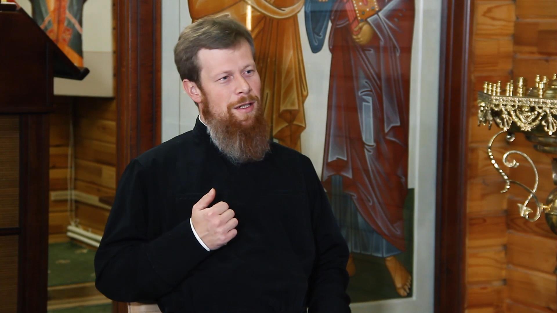 Душеполезное богослужение подготовительных недель к Великому посту - видео беседы с протодиаконом Павлом Бубновым. Часть 1