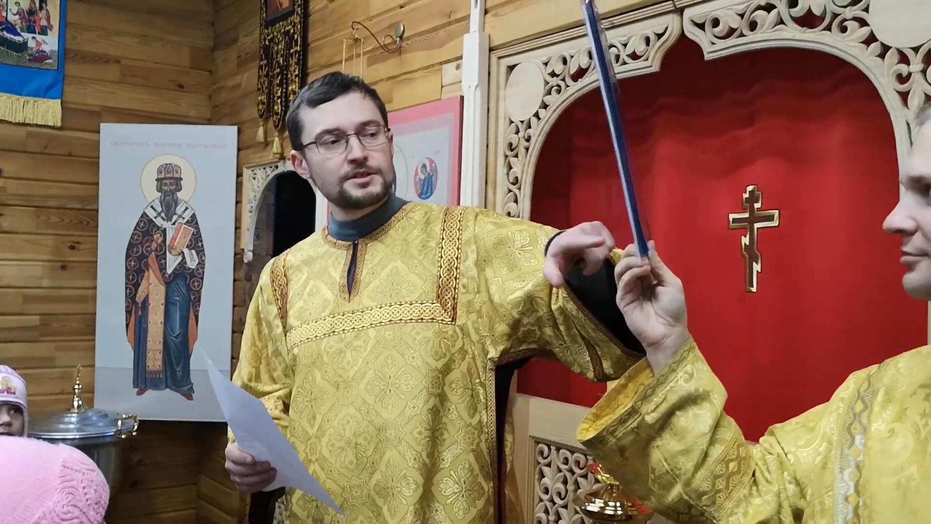 Как готовиться к Великому Посту? Видео детской проповеди с пономарем Алексеем Мосесовым