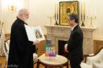 Митрополит Минский и Заславский Павел встретился с Послом Японии в Беларуси