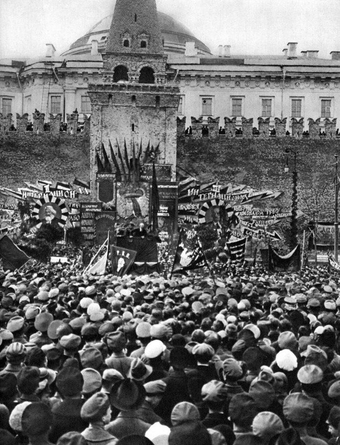1 мая 1919. Москва
